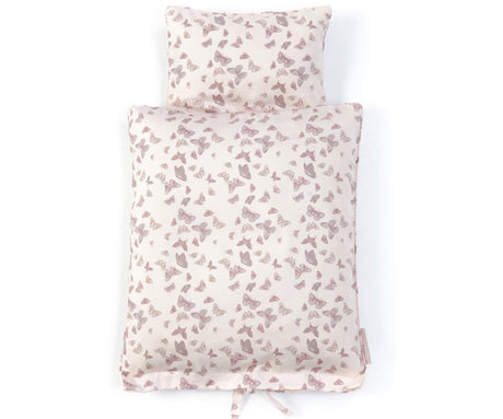 Smallstuff Doll's bed linen in Butterfly