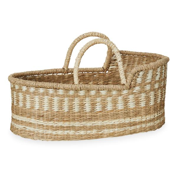Cam Cam Moses Dolls Basket - Natural