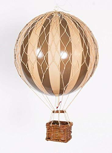 AUTHENTIC MODELS HOT AIR BALLOON IVORY AND GOLD - Metallic Collection