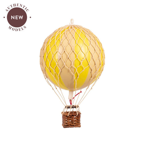 AUTHENTIC MODELS HOT AIR BALLOON Double Yellow - NEW
