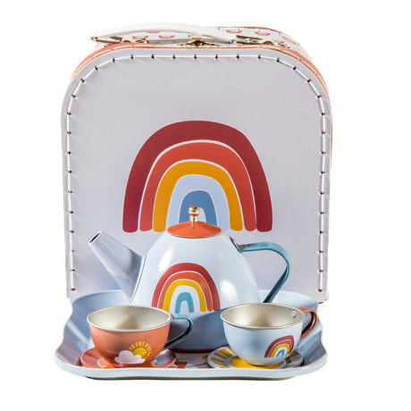 Little Dutch Rainbow Tea Set in Case