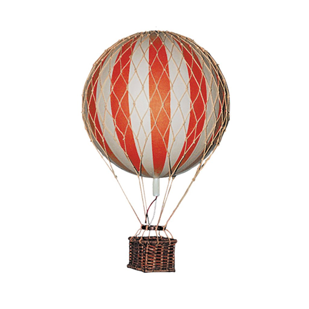 AUTHENTIC MODELS HOT AIR BALLOON RED