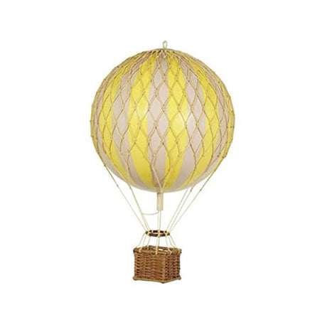 AUTHENTIC MODELS HOT AIR BALLOON YELLOW