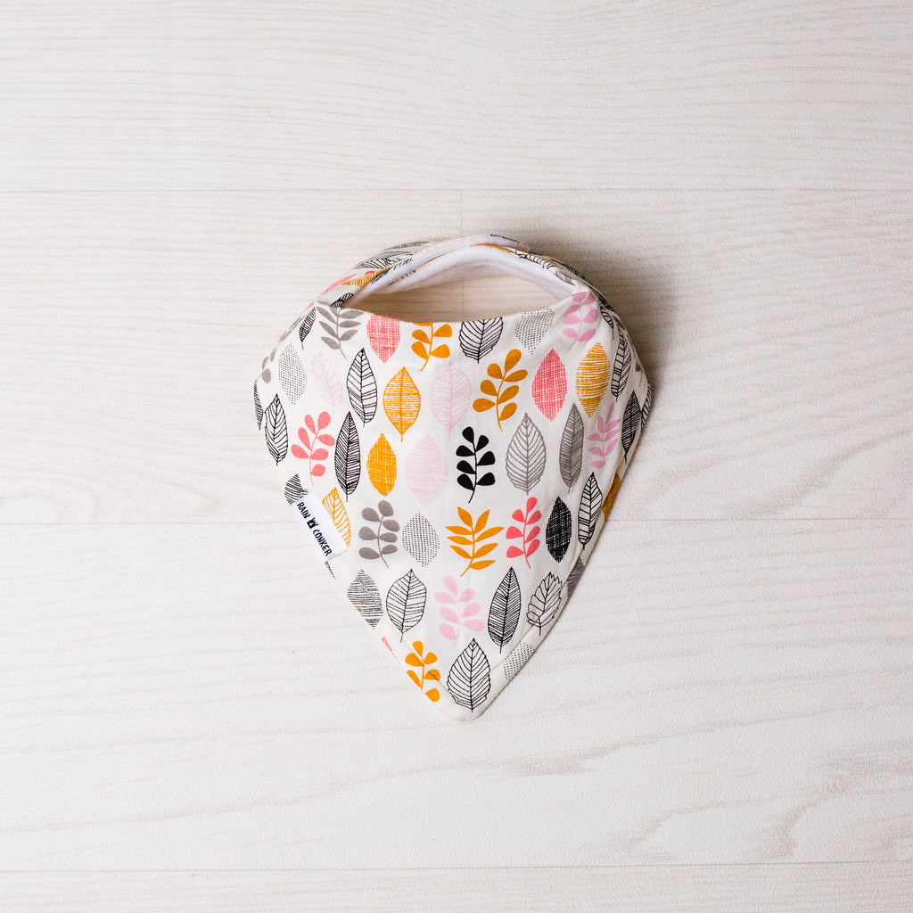 Blush + Bloom Bandana Bib – 'Organic'