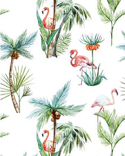 Flamingo Palm Wallpaper Roll