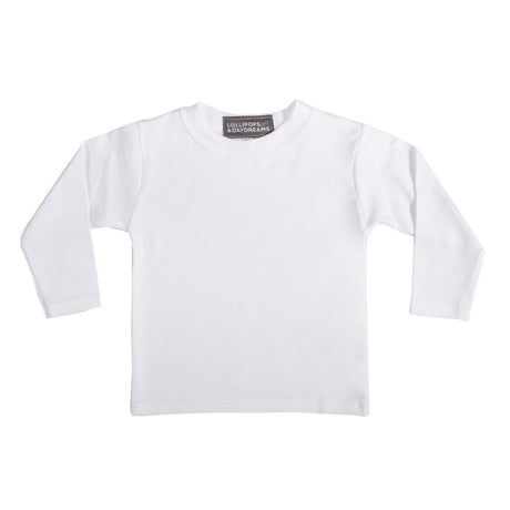 Long-Sleeve Top - White