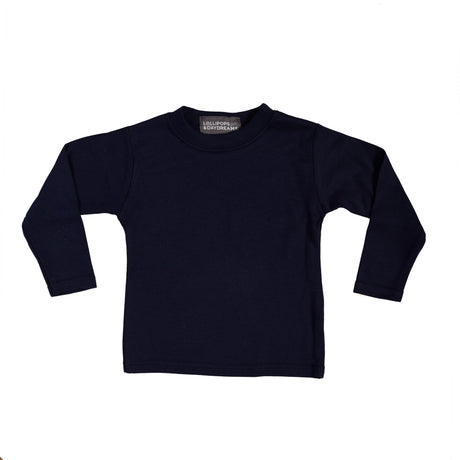 Long-Sleeve Top - Navy