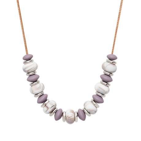 Teething Necklace - Mulberry Ember