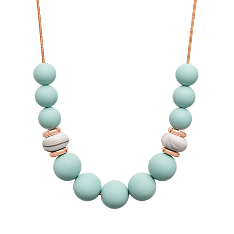 Teething Necklace - Cool Ember