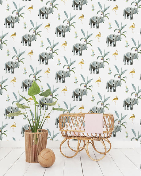 Elephant Wallpaper - Custom Order