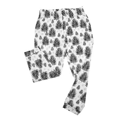 ORGANIC COTTONS FERN PRINT LEGGINGS
