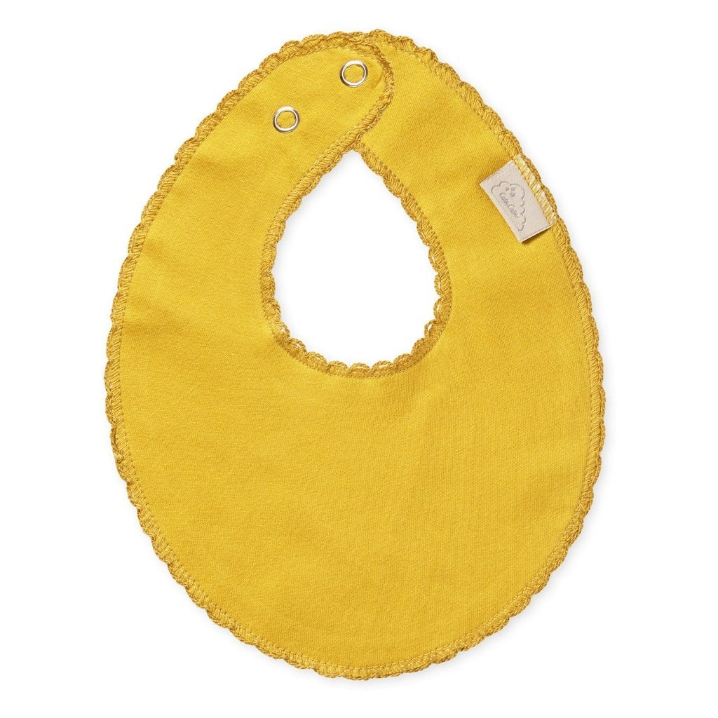 Teething Bib (organic cotton)- Mustard