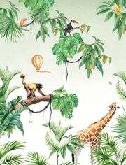 Monkey Jungle Wallpaper - Custom Order