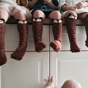 MINI DRESSING KNEE HIGH SOCKS