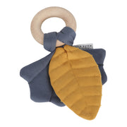 Crinkle Toy Leaves - Blue