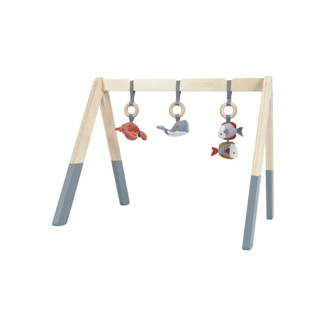Wooden Play Gym - Blue
