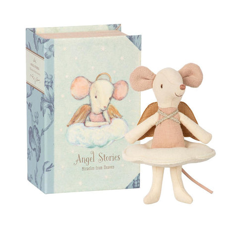 Maileg Angel Mouse. Big Sister in a Book