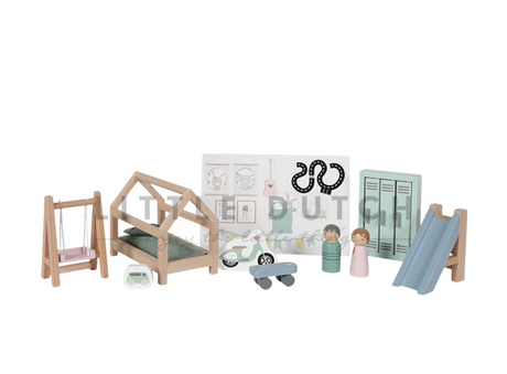 Doll's house extra furniture set- children's bedroom