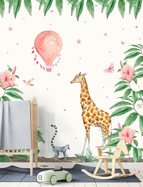Giraffe Wallpaper - Custom Order