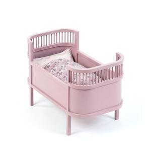 SmallStuff Rosaline Dolls Bed - Powder Pink (53cm)