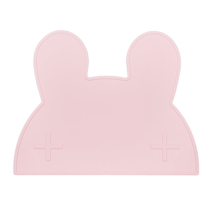 We Might Be Tiny -Bunny Place mat - Powder Pink