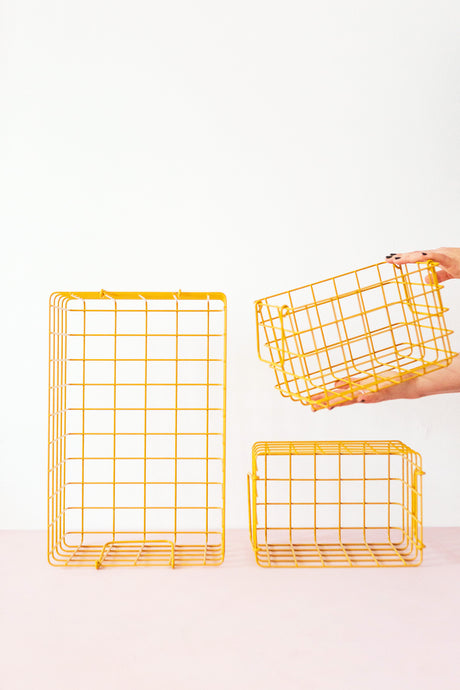 The Baskets In Mustard