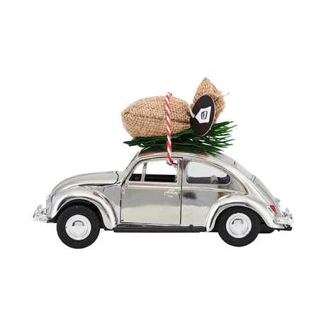 House Doctor Xmas Car - Chrome (mini)