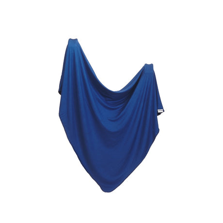 Stretchy bamboo swaddle : Indigo