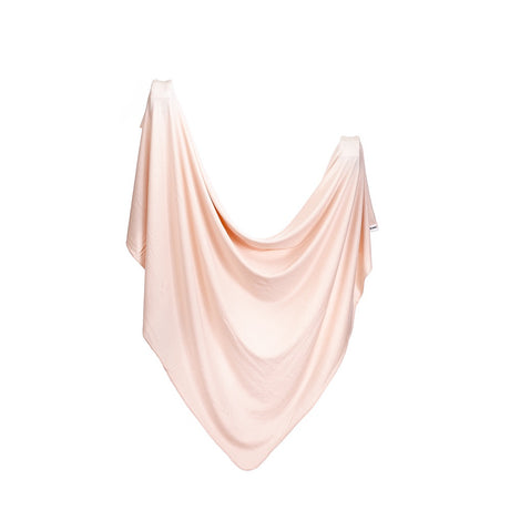 Stretchy bamboo swaddle : Blush