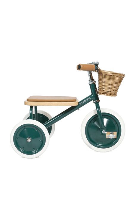 Banwood Trike (and basket)- Green