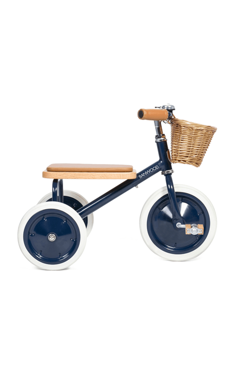 Banwood Trike (and basket)- Navy