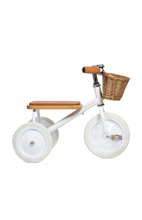 Banwood Trike (and basket)- White