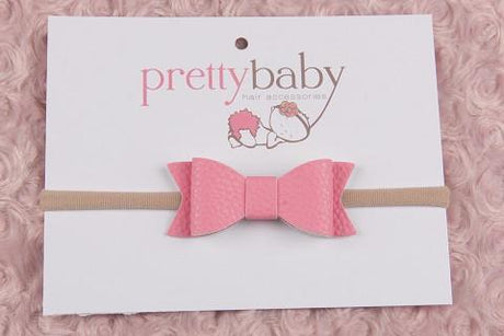 Bubblegum Pink Bow Headband
