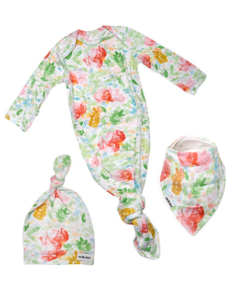 Baby Gift Hat Bundle - Summer Bloom