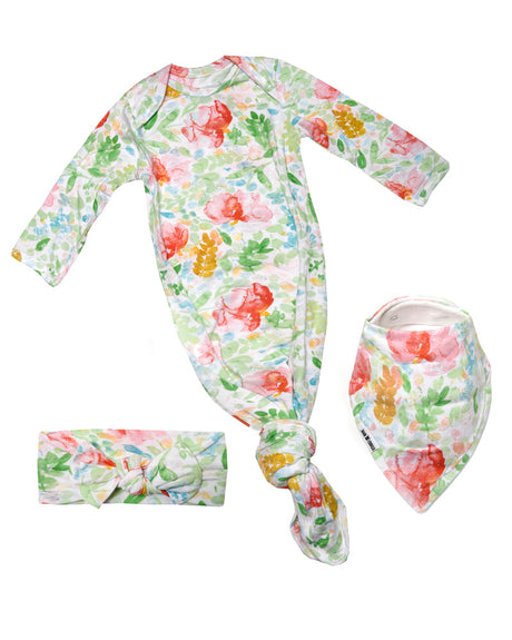 Baby Gift Bow Bundle - Summer Bloom