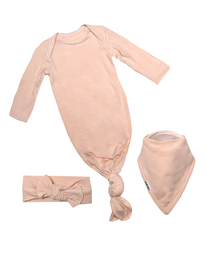 Baby Gift Bow Bundle - Blush