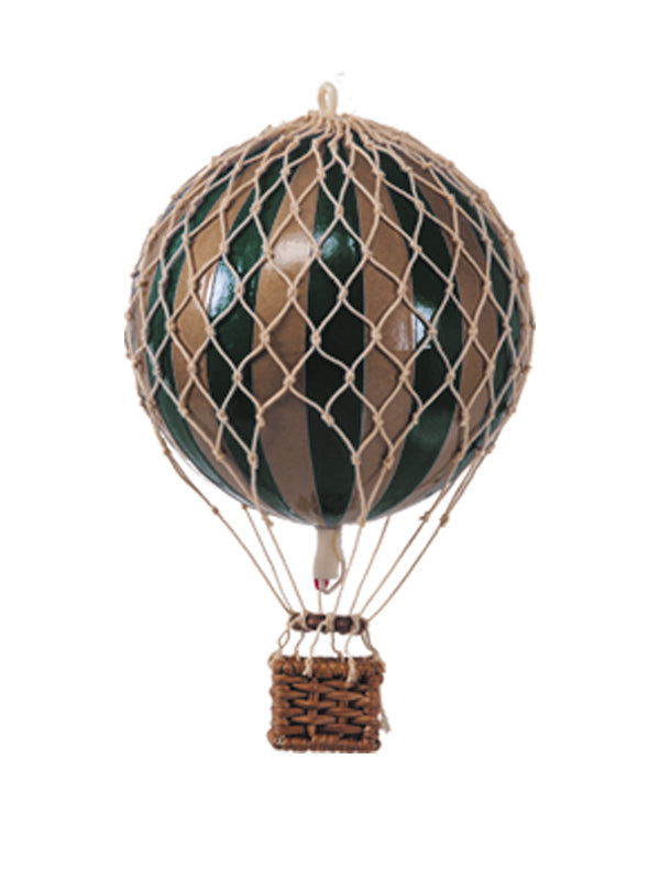 AUTHENTIC MODELS HOT AIR BALLOON GREEN AND GOLD - Metallic Collection