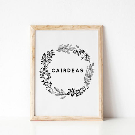 Cairdeas - Friendship Print