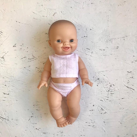 Baby Girl - Rose with pink pyjamas (34cm Doll)