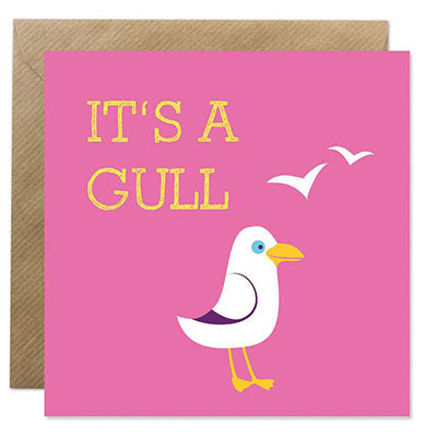 IT'S A GULL CARD