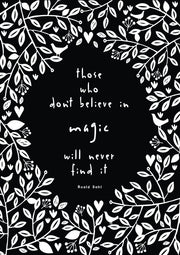 Roald Dahl - Magic quote