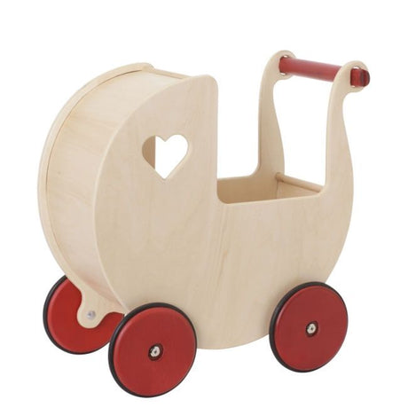 Moover Doll Pram - Natural Birch