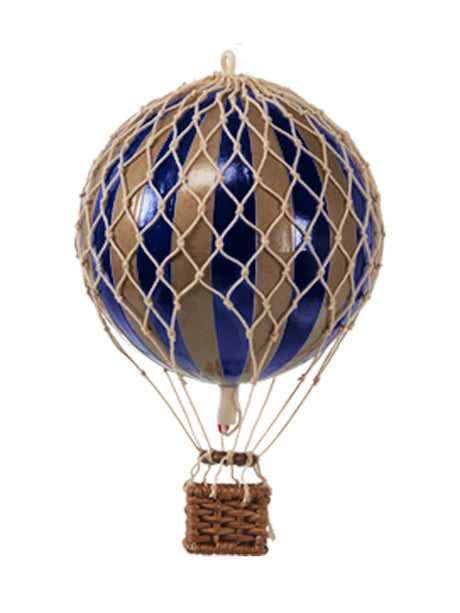 AUTHENTIC MODELS HOT AIR BALLOOn NAVY AND GOLD- METALLIC COLLECTION