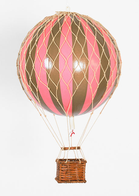 AUTHENTIC MODELS HOT AIR BALLOON PINK AND GOLD - Metallic Collection