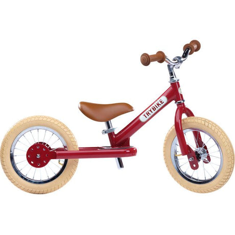 Trybike Steel- Balance Bike Ruby Red (PREORDER DELIVERY DUE NOV 9TH)