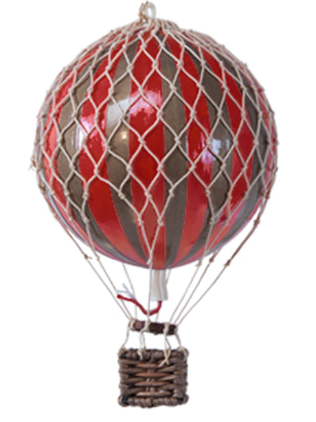 AUTHENTIC MODELS HOT AIR BALLOON RED AND GOLD - Metallic Collection