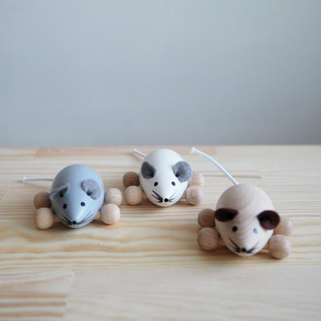 Wooden Mouse (Available in 3 colours)