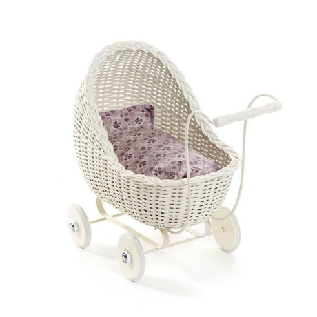 SmallStuff Wicker Stroller - Off White