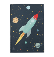 2 Pack A5 Notebooks - Space
