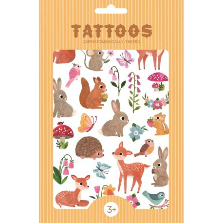 Tattoo - Woodland Friends